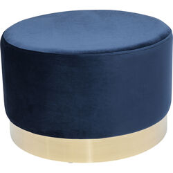 Stool Cherry Blue Brass Ø55cm