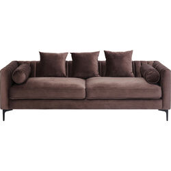 Sofa 3-Seater Variete Brown