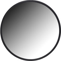Mirror Celebration Matt Black Ø60cm