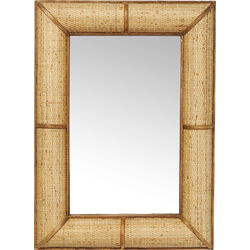 Mirror Bamboo 90x65cm
