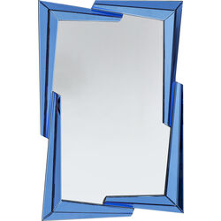Mirror Boomerang  Blue 122x82cm