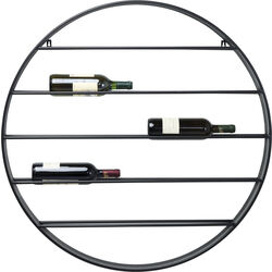 Wall Wine Shelf Bistro Round Ø90cm