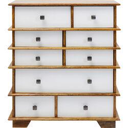 Dresser Fuji White 9 Drw.