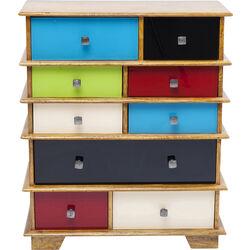 Dresser Fuji Colored 9 Drw.