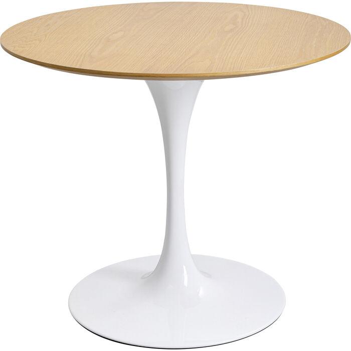 Tavolo Design Bianco.Tavolo Invitation Set Quercia Bianco O90cm Kare Design