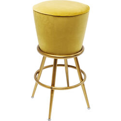 Bar Stool Lady Rock Yellow
