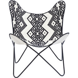 Arm Chair Butterfly Ethno