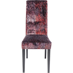 Chair Econo Slim Fancy Red