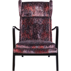 Arm Chair Silence Fancy Red