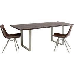Tisch Harmony Walnut Silber 160x80cm