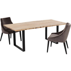 Table Harmony Black 180x90cm