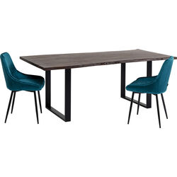 Table Harmony Dark Black 180x90