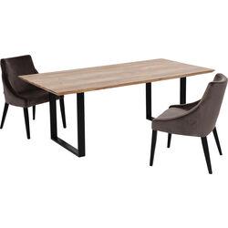 Table Symphony Black 200x100cm