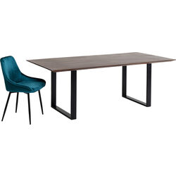 Table Symphony Dark Black 180x90