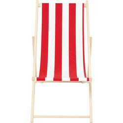 Deckchair Hot Summer Red/White