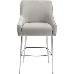 Bar Stool Night Fever Light Grey