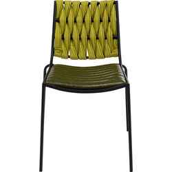 Chair Two Face Green