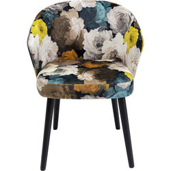 Chair with Armrest Peony Yellow