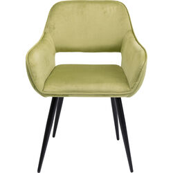 Chair with Armrest San Francisco Light Green