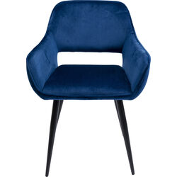 Chair with Armrest San Francisco Blue