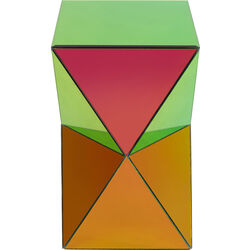 Side Table Luxury Triangle Rainbow
