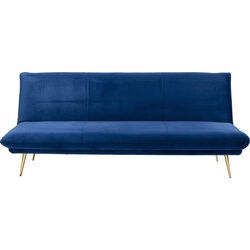 Sofa Bed Soda Blue 188cm