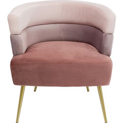 Arm Chair Sandwich Mauve