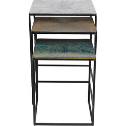 Side Table Ray Square (3/Set)
