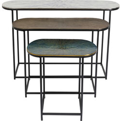 Side Table Ray Oval (3/Set)