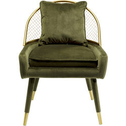 Arm Chair Aperitivo Grid Green