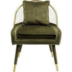 Arm Chair Aperitivo Grid Green