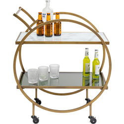 Tray Table Loft Brass