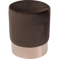 Stool Cherry Dark Brown Copper Ø35