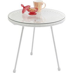 Side Table Acapulco White