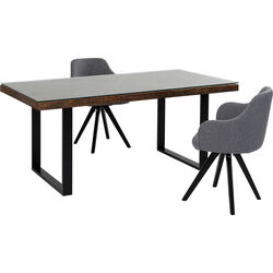 Table Conley Black 180x90