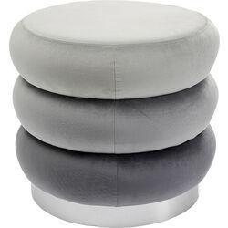 Sgabello Sandwich grigio