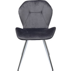 Chair Viva Grey Chrome