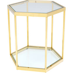 Side Table Comb Gold 55