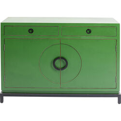 Sideboard Disk Green 2 Doors