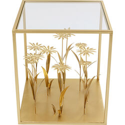 Side Table Flower Meadow Gold 40x40