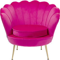 Arm Chair Water Lily Pink