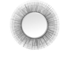 Mirror Sunburst Tre Silver Ø87
