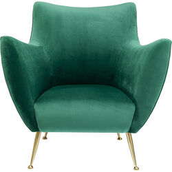 Armchair Goldfinger Green