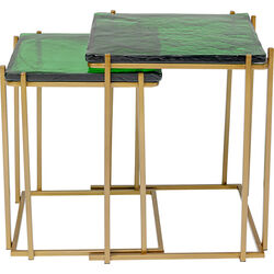 Side Table Lagoon Green (2/Set)