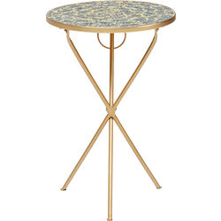 Side Table Clack Mosaic Rainbow Ø36