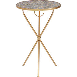 Side Table Clack Mosaic Pebbles Ø36