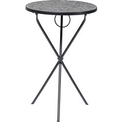Side Table Clack Mosaic Blue Ø36
