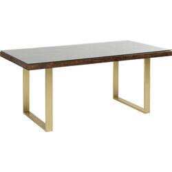 Table Conley Brass 160x80cm