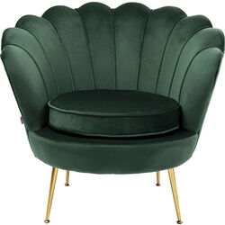 Arm Chair Water Lily Dark Green