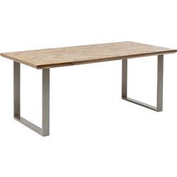Table Parquet Silver 180x90